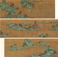 黄鹤楼图 by qiu ying