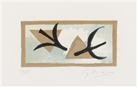 les martinets um 1955 by georges braque