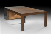 metamorphic table/side cabinet by stanley young