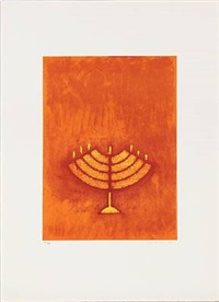 menorah from judith series by max ernst