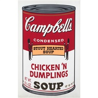 chicken n'dumplings, from campbell's soup ii by andy warhol