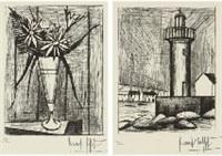 flower; tower (2 works) by bernard buffet
