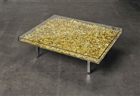 table d'or by yves klein