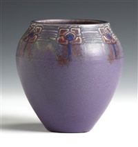 rookwood vase by william e. hentschel
