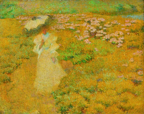 a walk through the fields by philip leslie hale
