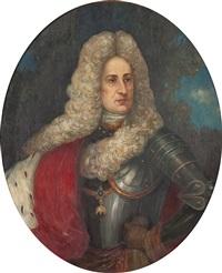 portrait eines adeligen by heinrich rudolf armbruster