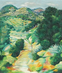 paysage à sanary by moïse kisling
