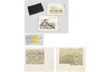 la passion du christ (portfolio of 21) by bernard buffet