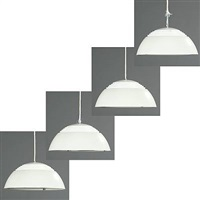 aj pendants (set of 4) by arne jacobsen