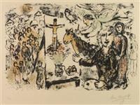 l'artiste et thèmes bibliques by marc chagall
