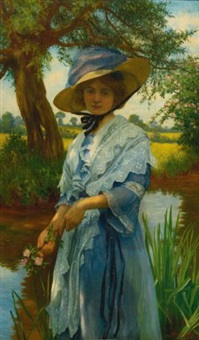 by the river by w. savage cooper