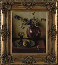 still life with roemer and fruit by antonie althuyzen