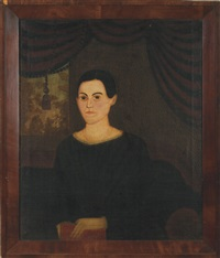 portrait of a young woman by william matthew prior