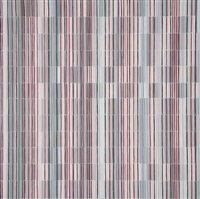 rote serie ii, iii und iv (3 works) by isabel albrecht