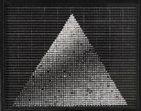 lichtpyramide (entwurf) by heinz mack