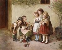 spielende kinder by edmund adler