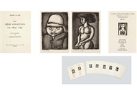 reincarnations du pere ubu (portfolio of 23) by georges rouault