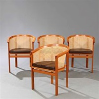 king's furniture (set of 4) by rud thygesen and johnny sorensen