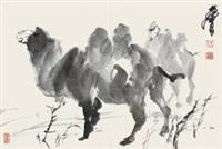 骆驼 by huang zhou