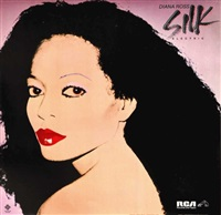 diana ross by andy warhol