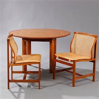 kongeserien dining room suite (set of 5) by rud thygesen and johnny sorensen