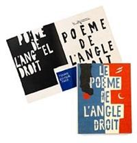 le poeme de l'angle droit (complete portfolio) by le corbusier