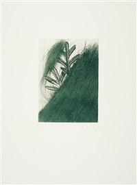 eichenblatt by arnulf rainer