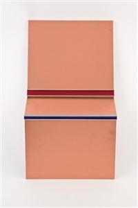 holocene shelf plates by keith sonnier