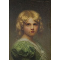 portrait of a child by edouard cabane