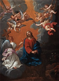 the agony in the garden by guido reni
