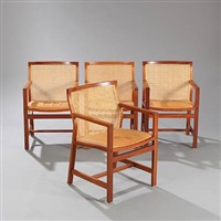 the king's furniture (set of 4) by rud thygesen
