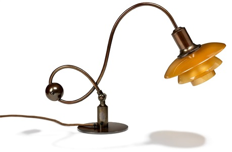 ph 22 rarte adjustable piano lamp with frame by poul henningsen