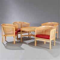 the kings furniture (set of 5) by rud thygesen and johnny sorensen