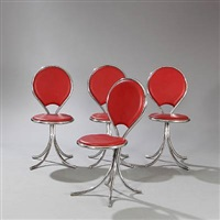 chairs (set of 4) by poul henningsen