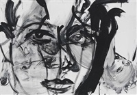 selfportrait (revolving painting) by luciano castelli
