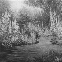 a floral garden by julie ford oliver