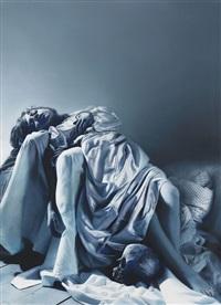 untitled (angel with skull) by gottfried helnwein