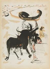bullfight no. 2 1966 by salvador dalí