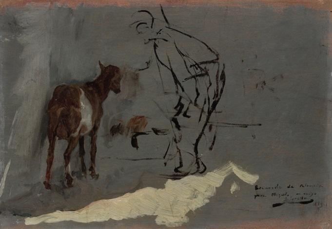la cabra by joaquin sorolla y bastida
