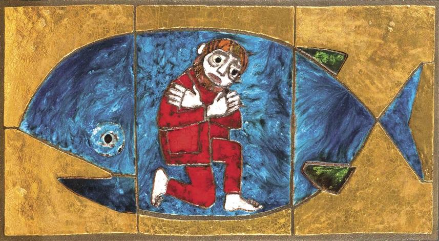 wandbild jona im wal von heide weichberger auf artnet