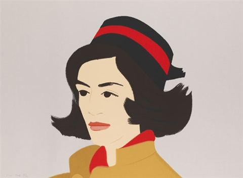 ada in hat (from alex and ada, the 1960s to the 1980s series) by alex katz