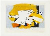 l'oiseau jaune by georges braque