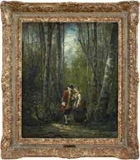 kurtis vid skogsväg by eugène appert