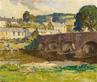 the bridge of withypool by leonard richmond