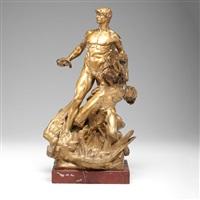 warrior bronze by georges bareau