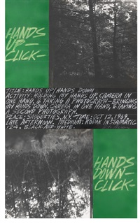 hands up / hands down (in 3 parts) by vito acconci