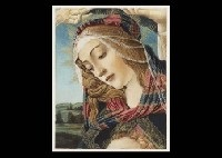 mother and child of magnificat and untitled (2 works from botticelli's works and his era) by sandro botticelli