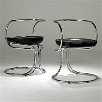 pair of chairs by vladimir tatlin