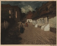 mois de marie by frits thaulow