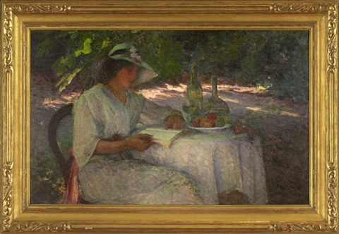 late afternoon by helen maria turner